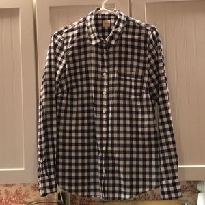 Women's J Crew long sleeve shirt